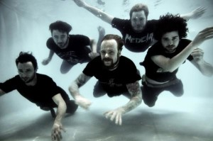 Interview with Robin Stap from The Ocean - band photo   Amps and Green Screens