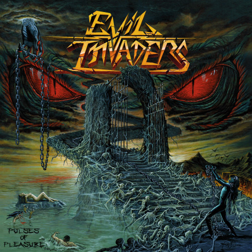 EVIL INVADERS COVER